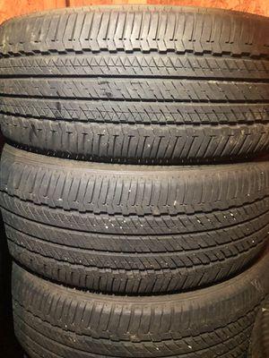 4 good use tires Bridgestone 245/60/18 for Sale in Sterling, VA
