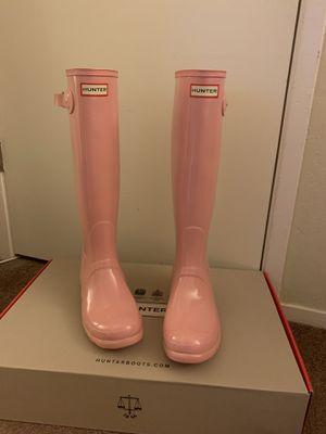 100% Authentic Brand New in Box Hunter Original Gloss Rain Boot / Women size 7 and Women size 8 for Sale in Walnut Creek, CA