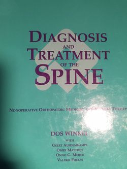 Book Diagnosis & Treatment of the Spine for Sale in Albuquerque,  NM