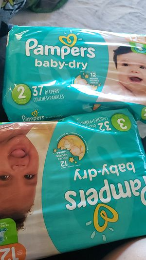 Pampers diapers for Sale in Bloomington, CA