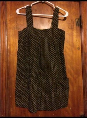 No Boundaries - yellow, white and black dress w pockets for Sale in Milnesville, PA