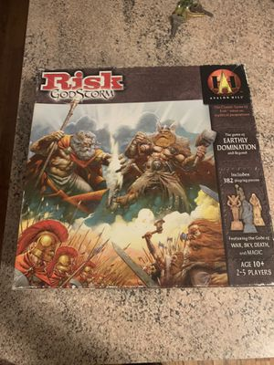 Risk board game- God Storm special edition for Sale in New York, NY