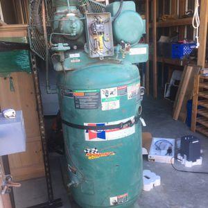 80 Gallon Air Compressor. Runs smooth for Sale in Oakley, CA