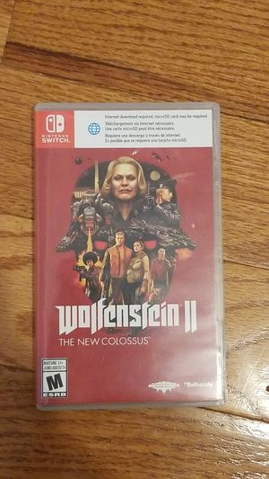 Wolfenstein 2 for switch for Sale in Plano, TX
