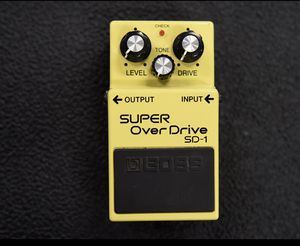 Boss overdrive guitar pedal for Sale in Escondido, CA