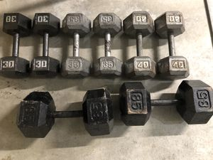 Dumbbells for Sale in Chesapeake, VA