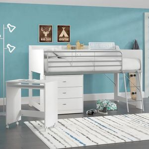 Loft Bed Kids. white for Sale in New York, NY