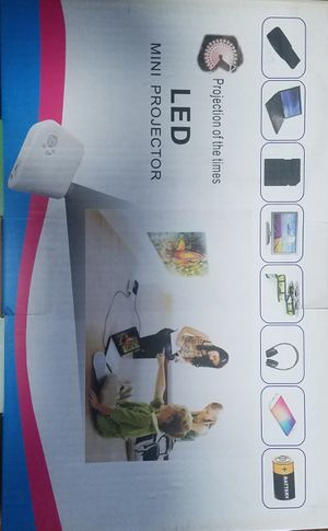 Mini projector for Christmas & all holidays for Sale in Sanger, CA
