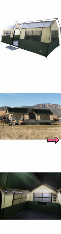 NEW Camping Tent 12 Person Cabin Outdoor Family House Shelter Backyard Big Canopy Stakes Pocket Storage Organizer Mud Mat *↓READ↓* for Sale in Chula Vista, CA