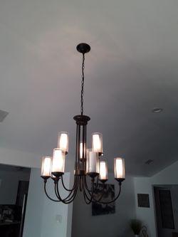 9 pendant chandelier for Sale in DeSoto,  TX