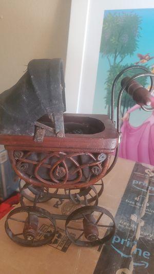 Vintage antique mini baby doll stroller for Sale in Tempe, AZ