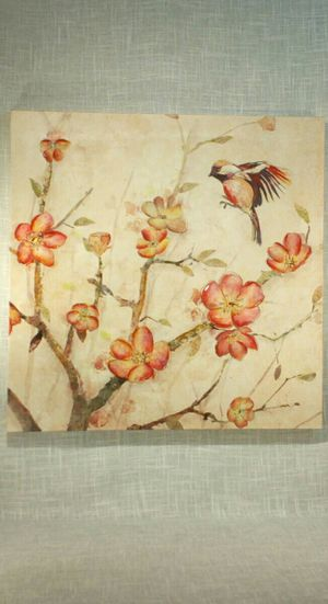"""Canvas Wall Art 24""""x24"""" *PICKUP ONLY* home decor, household, pictures, flowers, bird for Sale in Mesa, AZ"""