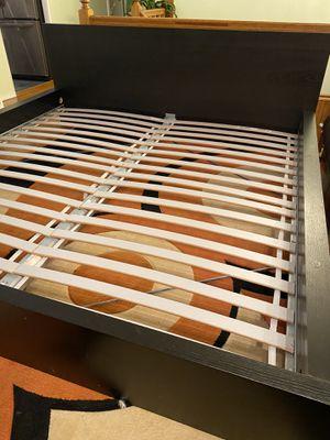 IKEA king size bed frame/ cama tamaño king de IKEA for Sale in Hoffman Estates, IL