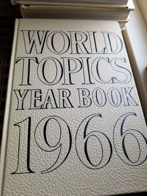World Topic Year Book for Sale in Seaside, CA