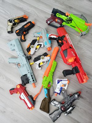 Nerf guns all for for Sale in Coconut Creek, FL