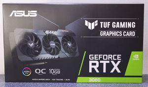 ASUS TUF OC RTX 3080 - NEW IN BOX for Sale in West Covina, CA
