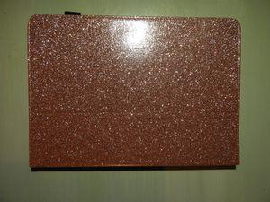 """iPad Pro 10.5"""" glitter rose gold case/Oro rosa protector for Sale in Dallas, TX"""