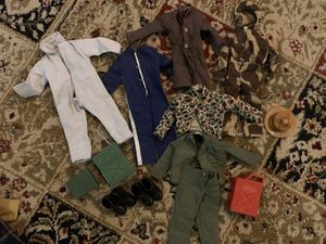 VINTAGE GI JOE CLOTHING & ACCESSORIES for Sale in Fresno, CA