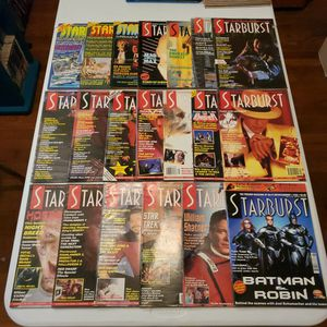 Starburst Magazine #32, 33, 35, 83, 86, 88, 91, 92, 95, 102, 133, 139, 142, 144, 145, 151, 152, 184, 188, 226.. Lot Of 20. Star Trek, Alien, Horror... for Sale in Fresno, CA