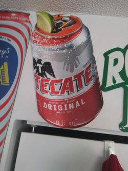 TECATE TIN METAL BEER SIGNS for Sale in Columbus,  OH