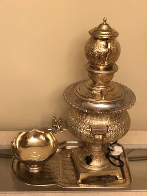 Persian Electric Samovar Tea Set 4 pieces for Sale in Los Angeles, CA