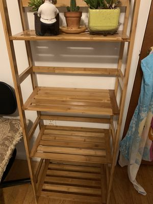 4 Tier Bamboo Plant Stand for Sale in Brandywine, MD