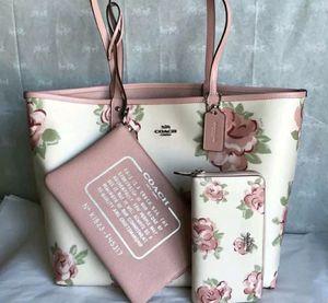 NWT Coach Handbag Purse Tote ♡ Authentic for Sale in Rochester Hills, MI
