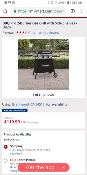 Bbq Pro 2 burner gas grill for Sale in Brentwood, CA