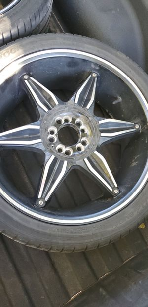 Hankook Tires and Wheels(set of 4) for Sale in Oklahoma City, OK
