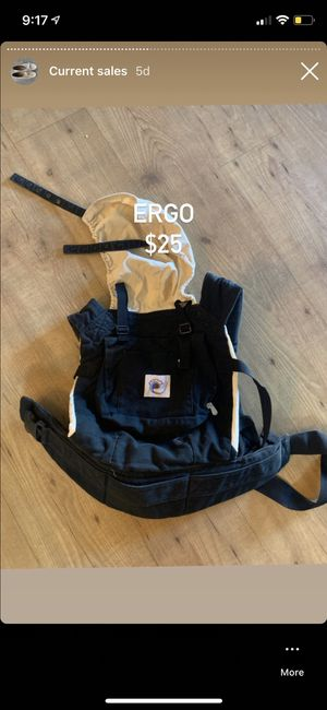 Ergo baby carrier for Sale in Concord, CA