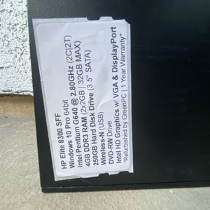HP Desktop (for Parts) (open To All Offers) for Sale in Pomona, CA