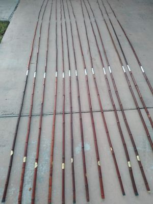 New bamboo fishing rod...10.00 each for Sale in Pembroke Pines, FL