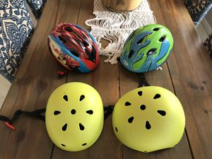 Kids bike helmets baby, toddler, small and medium for Sale in Oakland Park, FL