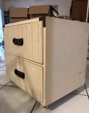 Homework small desk with two drawer tables for Sale in Cutler Bay, FL