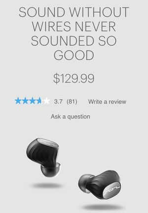 Sol republic wireless headphones for Sale in Bothell, WA