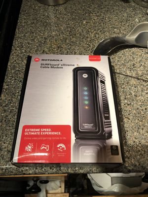 Motorola SurfBoard SB6121 Modem/router for Sale in Oklahoma City, OK