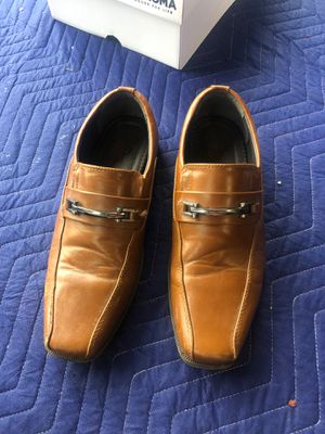 Dexter tan men's dress shoes size 7 for Sale in New Albany, OH