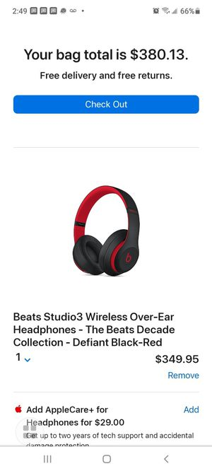 Beats Studio3 Wireless Over-Ear Headphones for Sale in East Meadow, NY