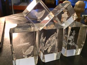5 holographic glass prism collectibles for Sale in Norwalk, OH