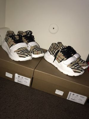 Burberry shoes sz. 44(11US) and 41(8US) no trades for Sale in Detroit, MI