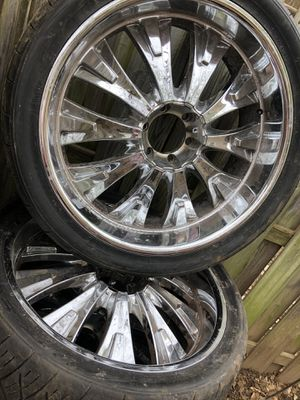 Chrome rims for Sale in Jessup, MD