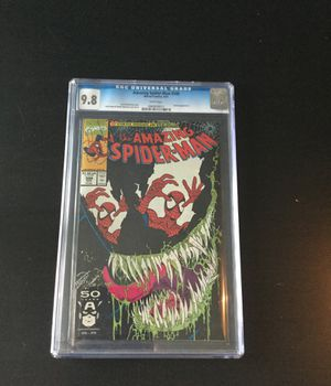 CGC Rated 9.8 Amazing Spider-Man #346 Venom Appearance for Sale in Grand Island, NE