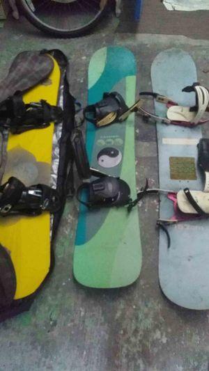 3 snow boards for Sale in Redondo Beach, CA