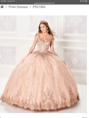 Ariana Vara Quinceanera Dress Gown for Sale in Rossville, MD