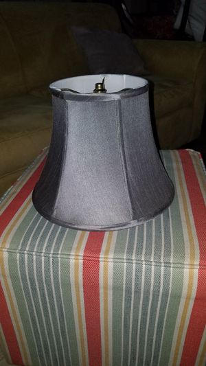 Grey lamp shade for Sale in New York, NY