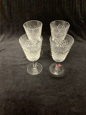 Waterford Crystal Alana water goblets for Sale in San Clemente, CA