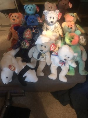 Ty Beanie Baby lot - the holy grail for Christmas for Sale in Dallas, TX