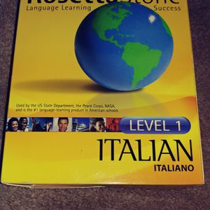 New ROSETTA STONE ITALIAN LANGUAGE ONLY $75 for Sale in Irwin, PA