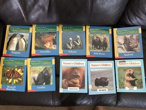 Nature's Children hardback book set for Sale in Rustburg, VA