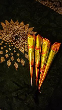 4 Henna Cones for Sale in Lodi,  NJ
